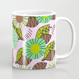 Atypical leaves and flowers Coffee Mug