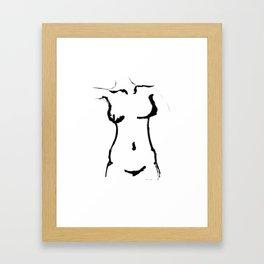 Female Nude Framed Art Print