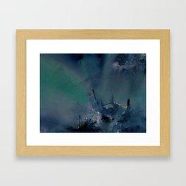 Abstract Oil Framed Art Print