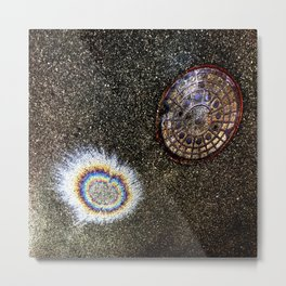 Asphalt Galaxy 2 Metal Print