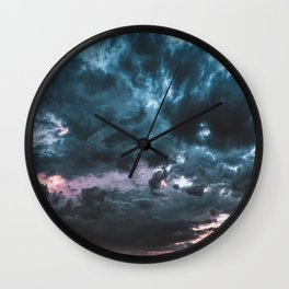 Thunderstorm Wall Clock