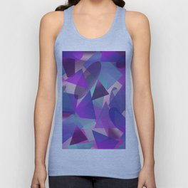 Abstract cube II Unisex Tank Top