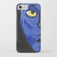 avatar iPhone & iPod Cases featuring Avatar by Paxelart