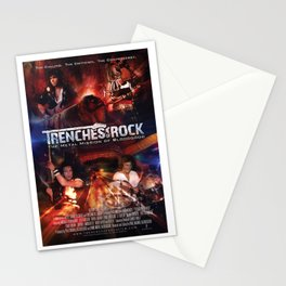 Trenches of Rock: Official Movie Poster / Art / Mugs / Phone Cases, etc. Stationery Cards