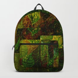 trippy leaves Backpack