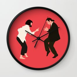 pulp fiction Wall Clock