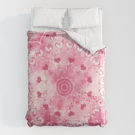 """""""The Suitor's Plea"""" Kaleidoscope 5 by Angelique G. @FromtheBreathofDaydreams Duvet Cover"""