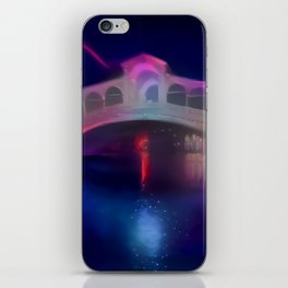 Pink Eclipse Rialto Bridge iPhone Skin