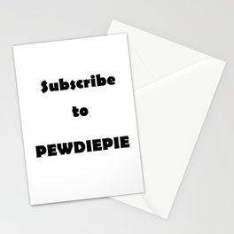 Sub to pew Stationery Cards