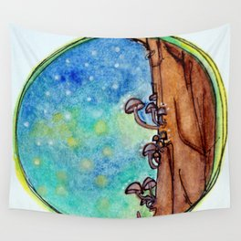 A Magical Night Wall Tapestry
