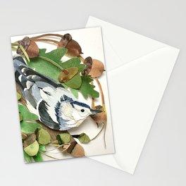 Acorn Nuthatch Stationery Cards