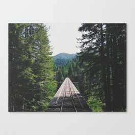 Vance Creek Bridge Canvas Print