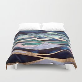 Moonlit Ocean Duvet Cover