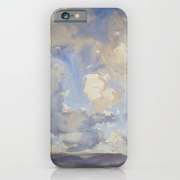 Clouds by John Singer Sargent, 1897 iPhone Case