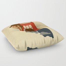 Spacetime Floor Pillow
