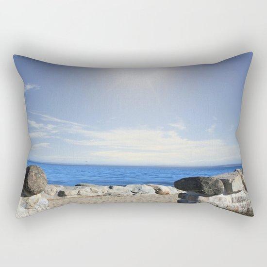 Beauty In The Distance Rectangular Pillow