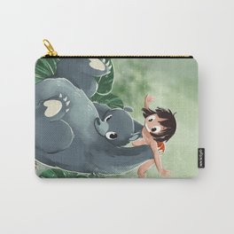 Mowgli and Baloo Carry-All Pouch