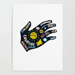 Positivity – Helping Hand Poster