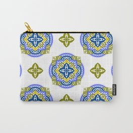 neo mandala - blue / green Carry-All Pouch