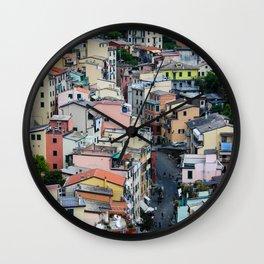 The Beautiful Riomaggiore Wall Clock