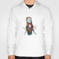 nightmare before christmas Hoodies featuring Sally - Nightmare before christmas by KanaHyde