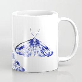 blue moths Coffee Mug