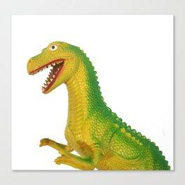 Hong Kong T-Rex Canvas Print