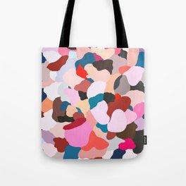 petals: abstract painting Tote Bag