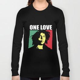 Rare Vintage One Love 90s Concert Ska Jamaica rock Long Sleeve T-shirt