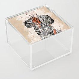 Woman dragón  Acrylic Box