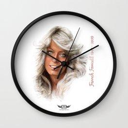 Farrah Fawcett  Wall Clock