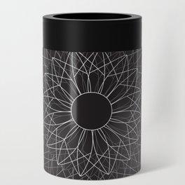 Spiral #abstract #dark Can Cooler