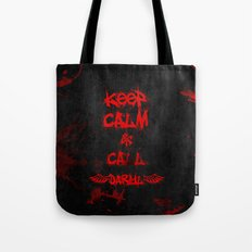Keep Calm & Call Daryl Dixon!!! Tote Bag