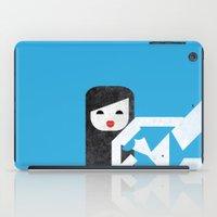 bikini iPad Cases featuring Bikini (01) by Marco Recuero