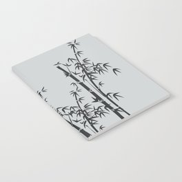 Bamboo black - grey Notebook