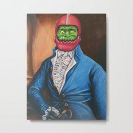 Gentleman In A Blue Coat Metal Print