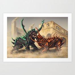 Lurhound Art Print