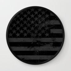 American Brain Flag Wall Clock