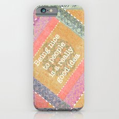 Coral Melody iPhone 6s Slim Case