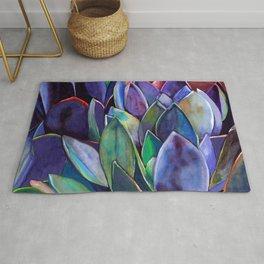 Purple Agave Rug