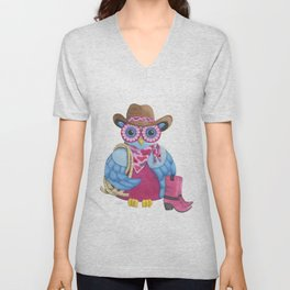American Cowgirl Unisex V-Neck