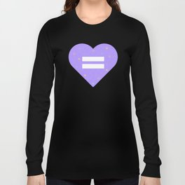 Tic Tac Heart Long Sleeve T-shirt