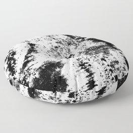 Noir Blanc Floor Pillow