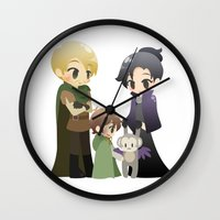 ouat Wall Clocks featuring OUAT - Outlaw Queen by Choco-Minto