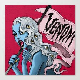 Venom 04. Joan Canvas Print