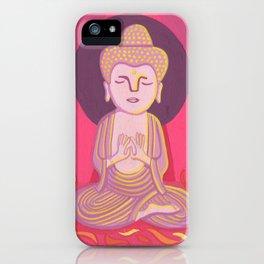 Buddha H iPhone Case