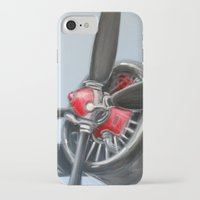 airplane iPhone & iPod Cases featuring Airplane by Renato Verzaro