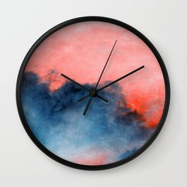 sky paint series II Wall Clock