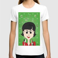 amelie T-shirts featuring Amelie Poulain by Camila Oliveira