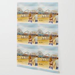 Santa Monica Pier Ferriswheel Wallpaper